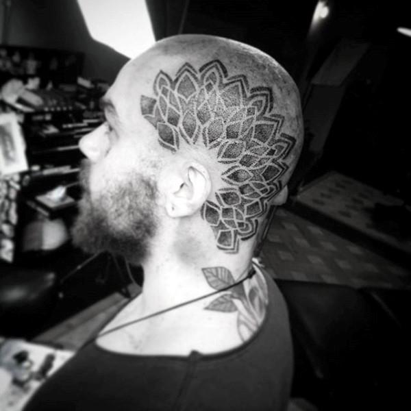 tattoos for bald guys