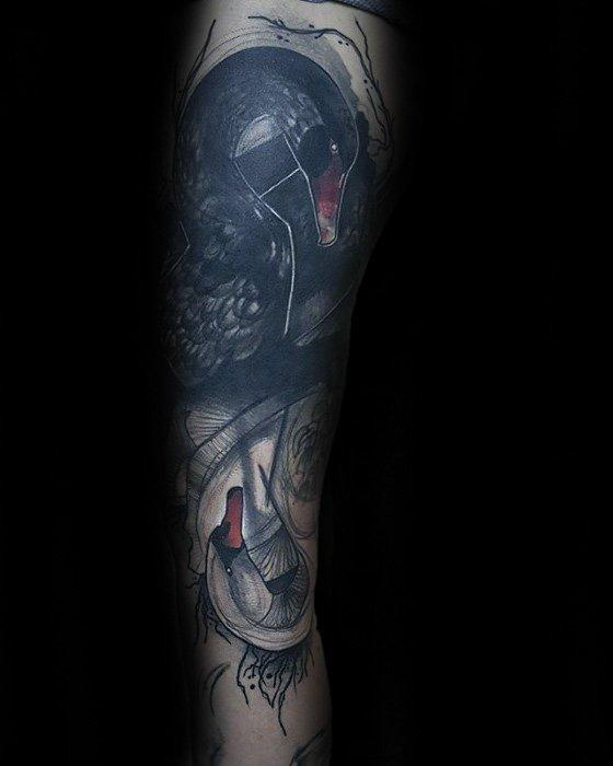 tattoo black swan
