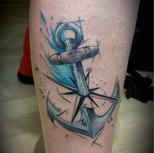 infinity anchor tattoo design ideas