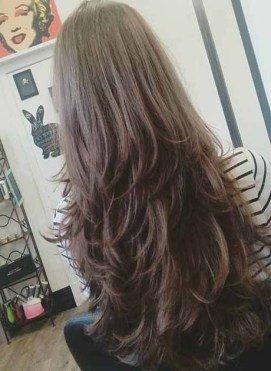medium long hairstyles female
