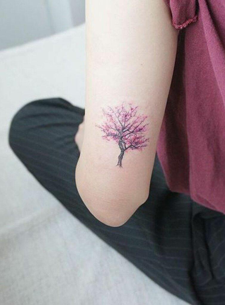 cherry blossom tattoo shop images