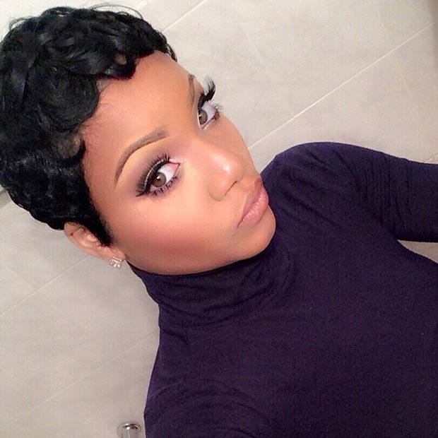 girls simple styles for short natural hair