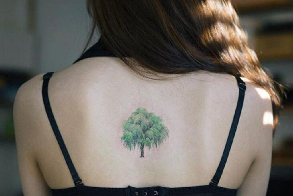 top cute tree tattoos idea