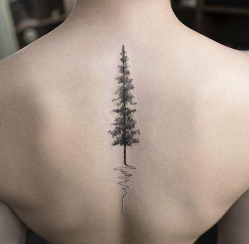tree of life tattoo simple