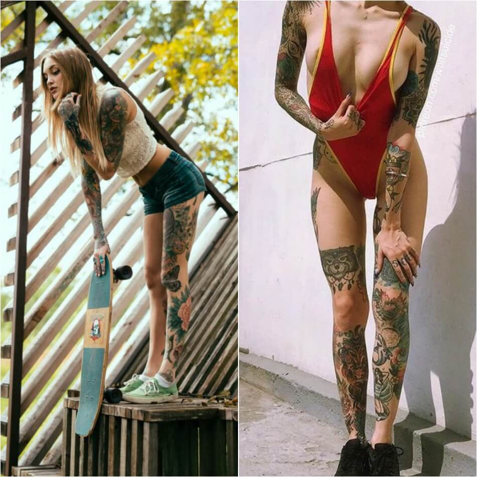 whole body tattoo design