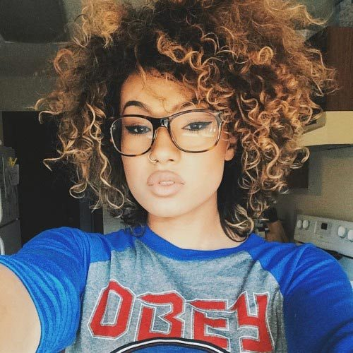 different hairstyles for short natural hair