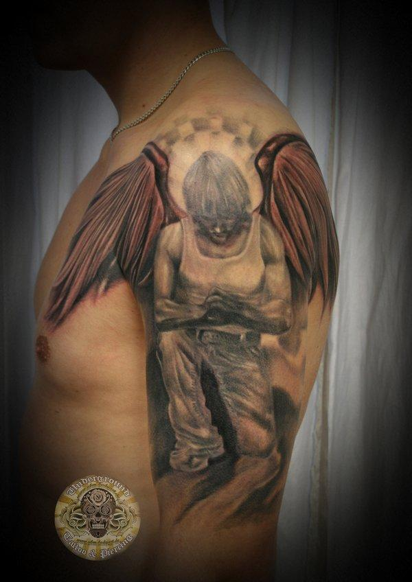 guardian angel wings tattoo design images