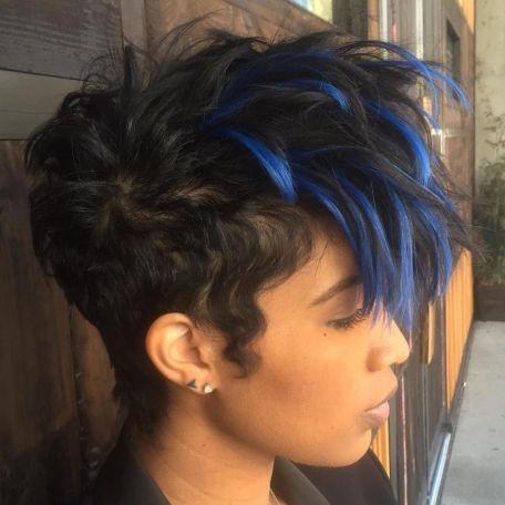 female short natural haircuts