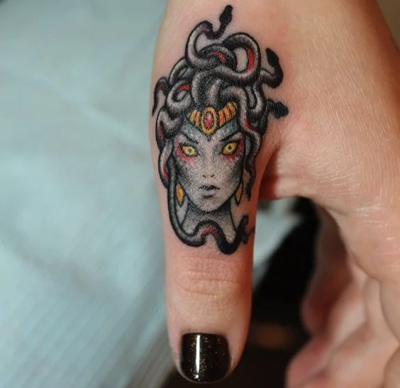 Medusa was one of the three Gorgons