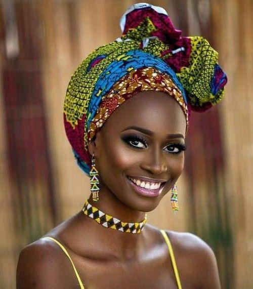 women's african head wraps