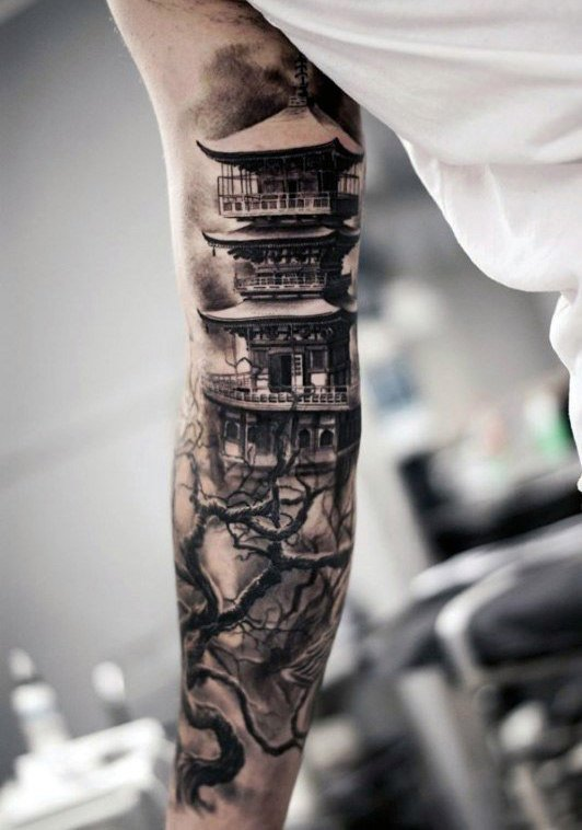 men meaningful forearm tattoos