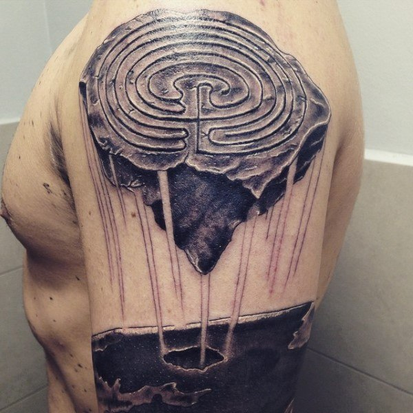 shoulder arm stone nixon tattoo ideas