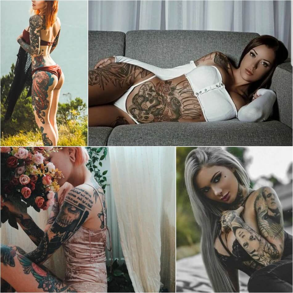 Top  Unique Thigh Tattoo For Women