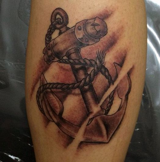 fouled anchor tattoo meaning