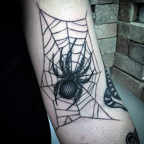Fantastic Spider Tattoo Designs
