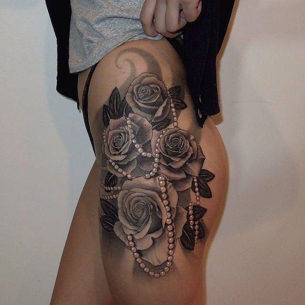 Frau tattoo sexy 130 Most