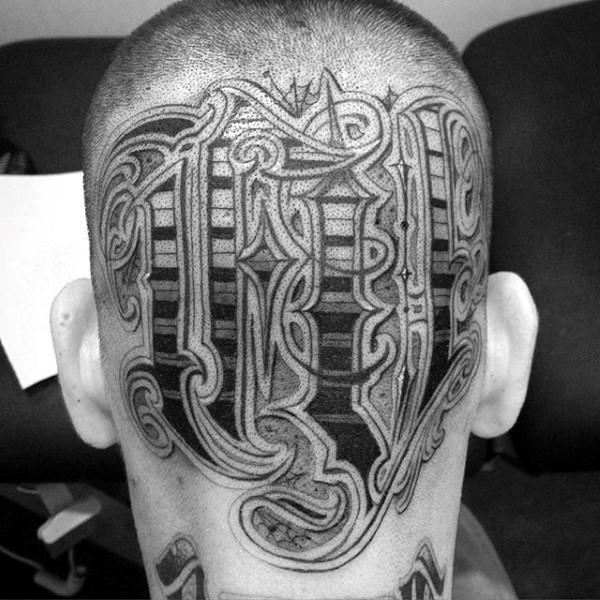best bald head tattoos mandala design images