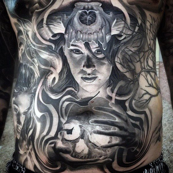 The Best Stomach Tattoos For male