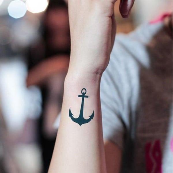 arm anchor arm tattoo