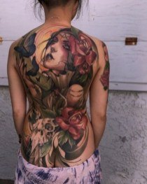 all body tattoo for girls