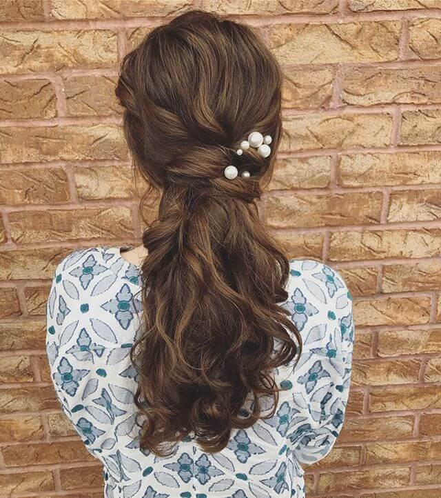 all types of ponytails hairstyles