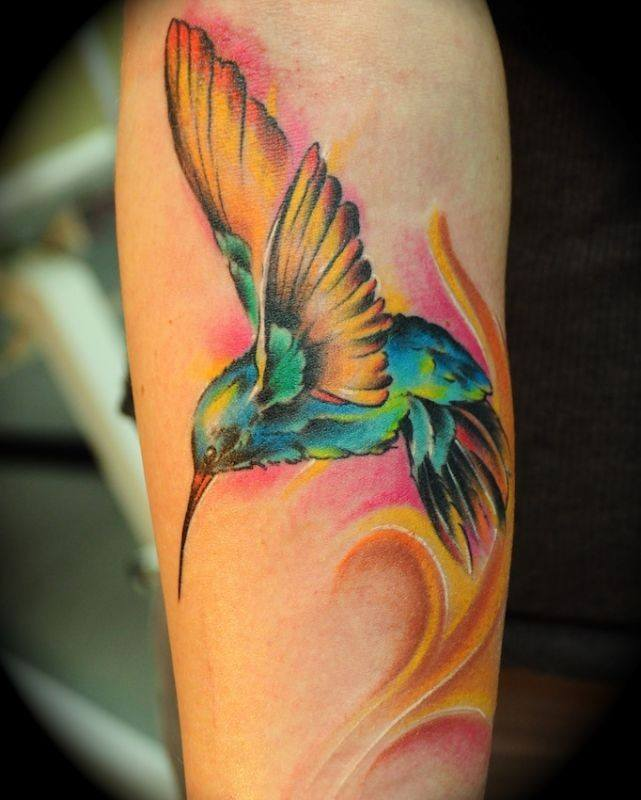 bird tattoos designs on arm
