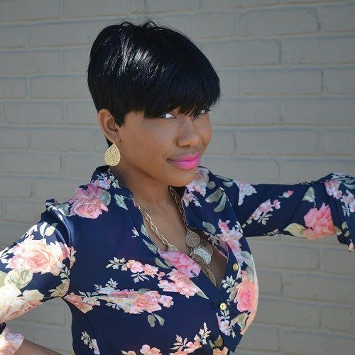 short pixie quick weave hairstyles for women