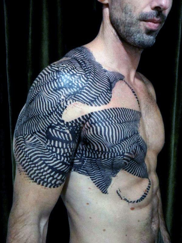 Most Popular Chest Tattoos for Men