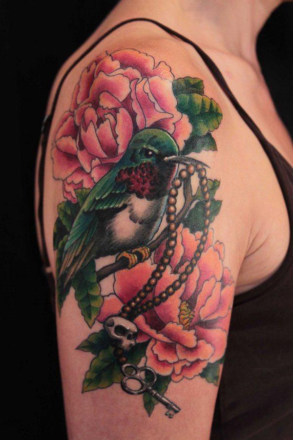Beautiful Back Shoulder Tattoo Designs