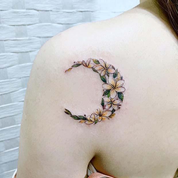 temporary tattoo design for girl shoulder