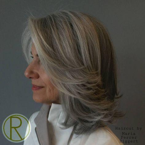 best short haircuts for grey hair women