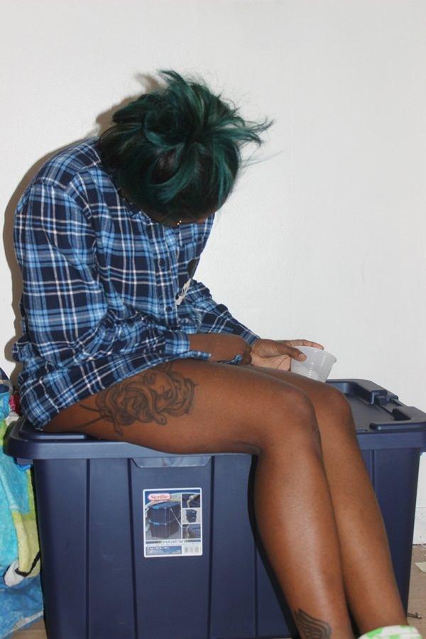 leg medusa tattoo art for women