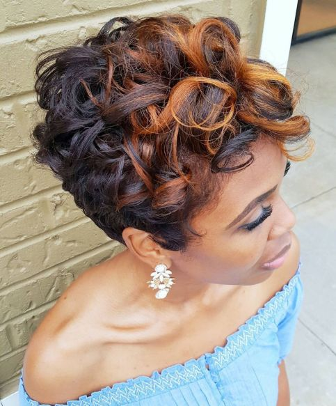 african american pixie cut styles women images