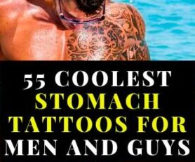 55 Coolest Stomach Tattoos For Men and Guys Design