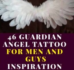 MENS ANGEL TATTOO DESIGNS INSPIRING PICTURE ELEGANT ART