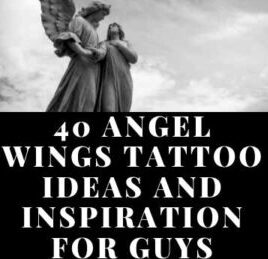 PICTURES OF ANGEL WINGS TATTOOS MODERN DESIGN FOR MALE