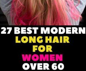 LONG HAIR FOR WOMEN OVER 60