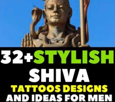 shiva tattoo images