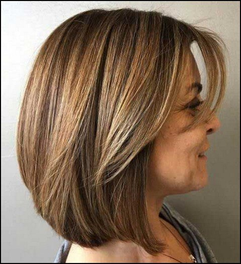 bob haircut for 50 year old woman