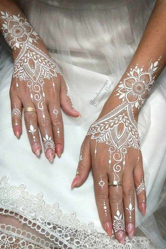 henna tattoo for wedding