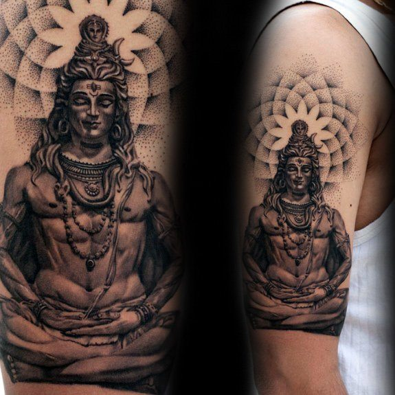lord shiva images for tattoo on arm