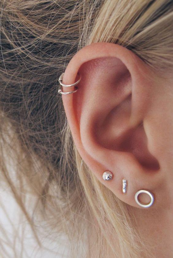 ear piercings for depression