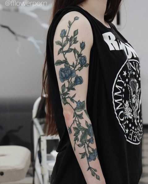 full arm tattoos for ladies images