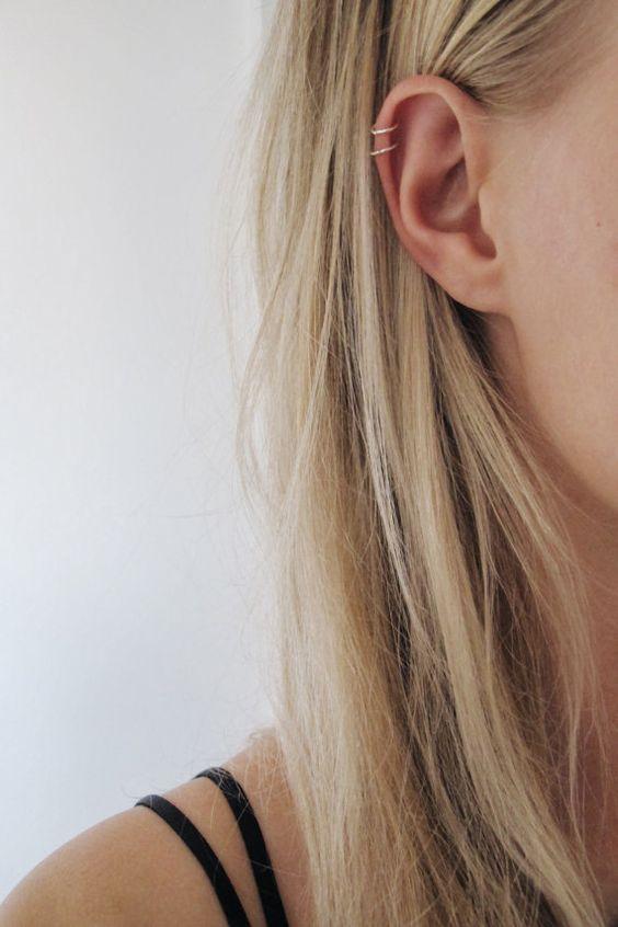 These ear piercings for women