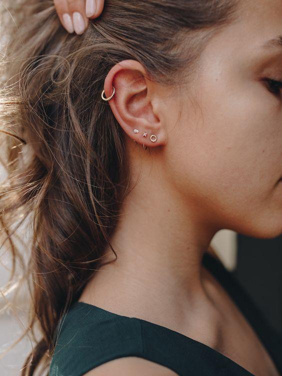 ear piercings seconds