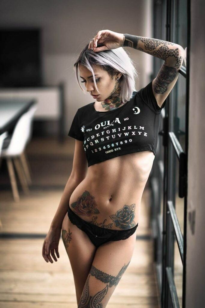 sexy sleeve tattoos for women
