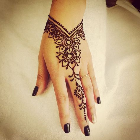 finger Henna Mehndi Designs Girls ideas