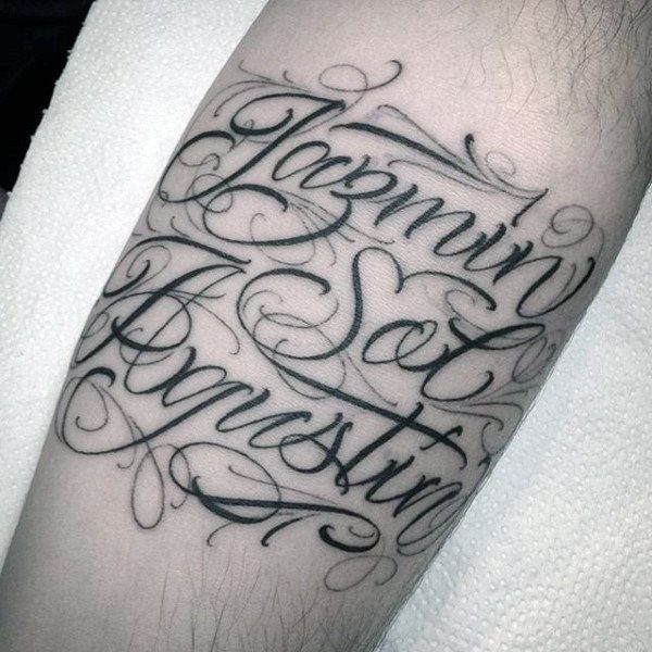 name tattoos are popular