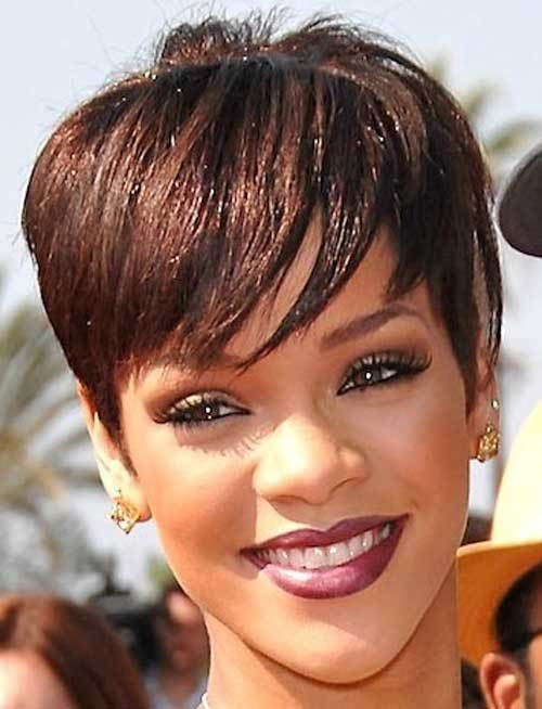 hairstyle for short hair black females