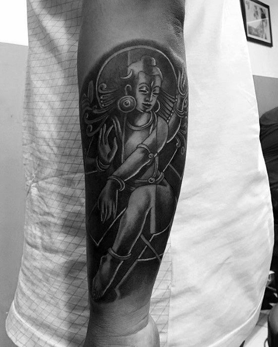 arm lord shiva tattoo
